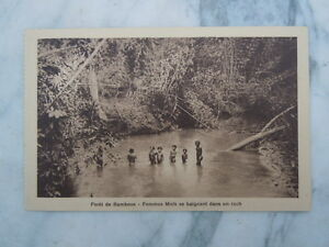 Carte Postale Femmes Moïs Se Baignant Dans Un Rach Cochinchine Saïgon Dpgvgbyw-10042719-784217321
