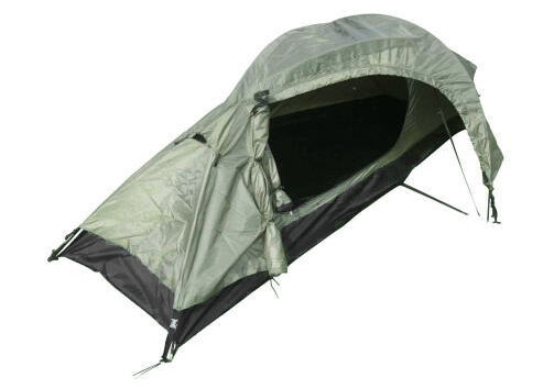 One Man Olive Green Recon Tent - Army Military Camping Shelter Double Skin New