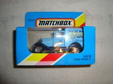 MATCHBOX MB-38 FORD MODEL A VAN - ISLE OF MAN TT86 - LOW PRICE -LOOK-!!!