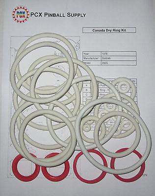1976 Gottlieb Canada Dry Pinball Machine Rubber Ring Kit | eBay