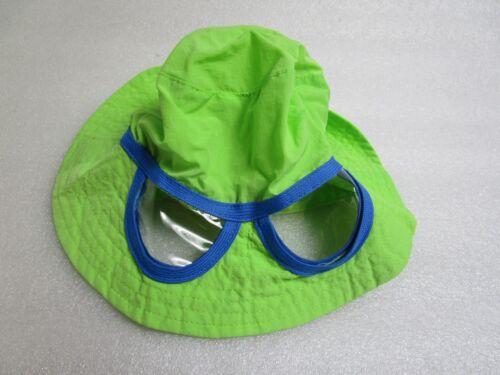 Wide Brim Sun Hat Built in Sun Glasses New So Dorable Green Infant Hats