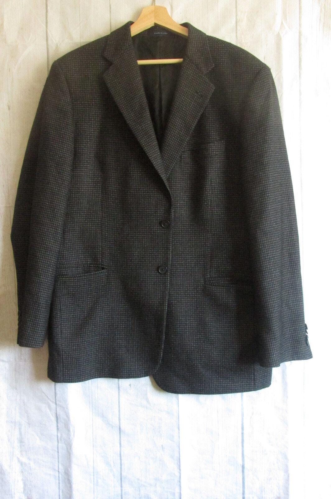 Joseph Abboud Lgold Piana 120s Wool 2 Button Sport Coat