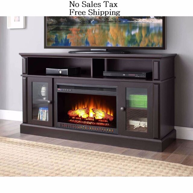 oak home fireplace the valmont in console media electric real flame en with p