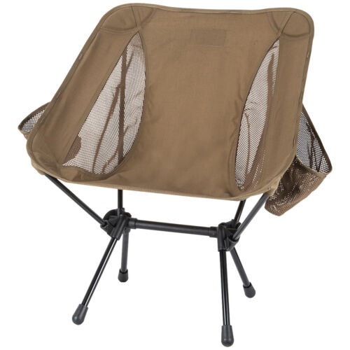 Helikon Range Foldable Chair Fishing Camping Portable Festival Seat Coyote