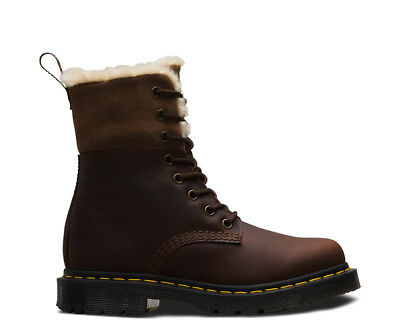 Wintergrip Dr 1460 Kolbert IN Box THE Dark NEW Martens Brown