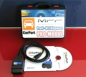 OBD2 VCD K+CAN UDS Diagnose Interface für VW AUDI + CarPort Software ...