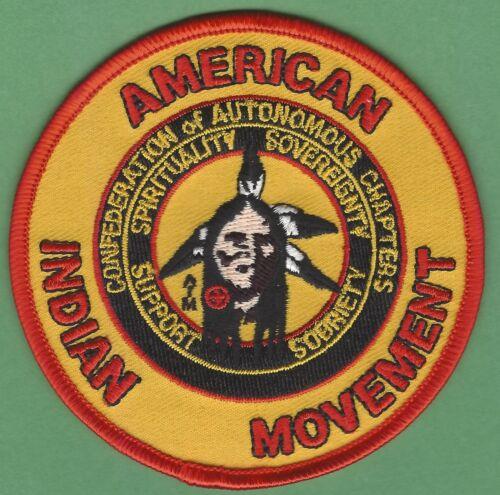 Aim American Indian Movement Confederação das tribos autónoma Patch