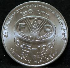 Thailand, (1995) 20 Baht, F.A.O., Brilliant Uncirculated, Y308              2gtm