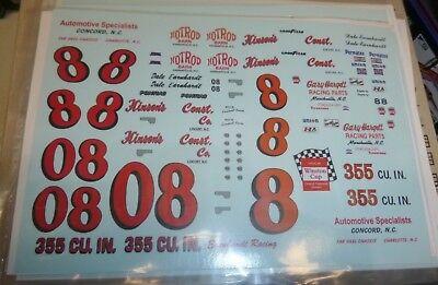 "PPP JOE RUTTMAN DART /""KIT CAR/"" RON NASH #55 CAR/&DRIVER 1//25 MODEL CAR MOUNTAIN"
