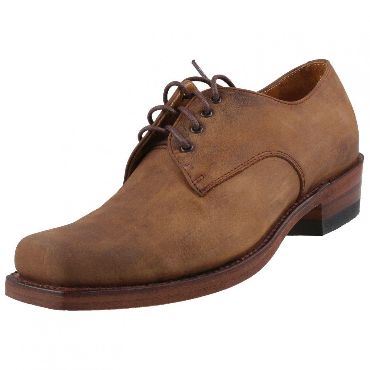 Neu SENDRA Stiefel Herrenschuhe 530 Halbschuhe Schnürschuhe Leder Schuhe Biker