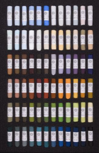 Unisono artista qualità Soft Pastels PAESAGGIO Set di 72 COLORI