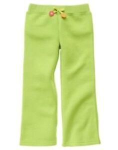 43 Gymboree Girls Culottes Pants Green Army Camouflage w// Adj waste NWT