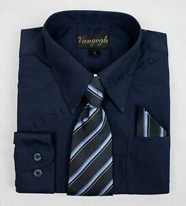 e31247341 La imagen se está cargando Nino-Azul-Marino-Vestido-Camisa-con-Corbata-a-