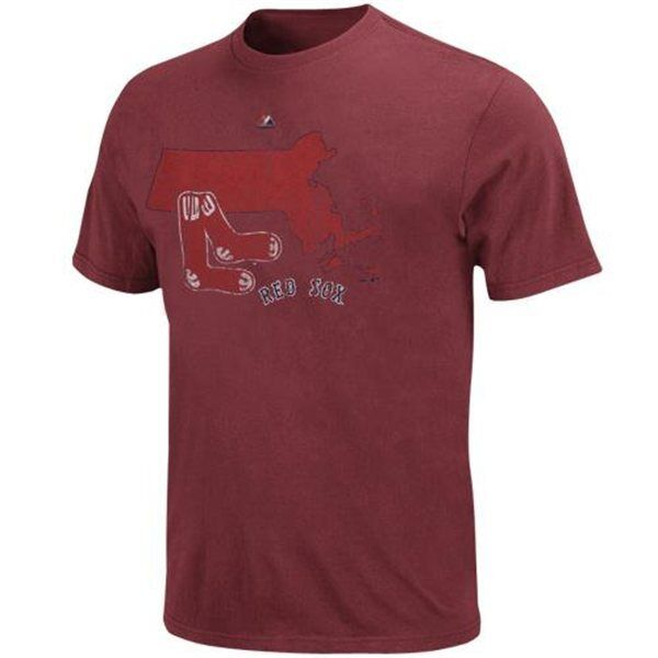 MLB Baseball T-Shirt BOSTON rot SOX - Cooperstown Double Digit Digit Digit Lead Pigment Dyed 3d5c95