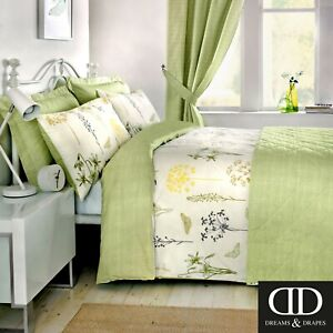 Dreams-amp-Drapes-BOTANIQUE-Botanical-Floral-Vintage-Bedding-amp-Curtains-Bedroom