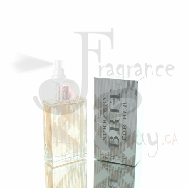 Burberry Brit EDT W 100ml Boxed