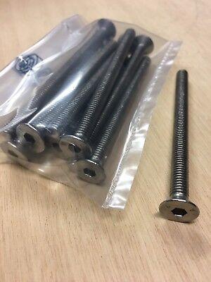 Viti brugola testa cilindrica DIN 912 Acciaio Inox A2 da M3X4 a M3X25
