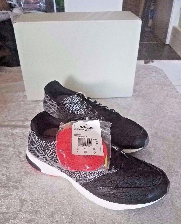 adidas adizero adios 2 konsortium schwarze schlange box größe 10 new in box schlange d66467 84f48d