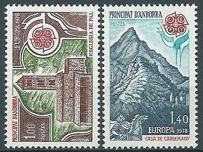 1978 Europa Andorra Francese Mnh ** - Ev To Enjoy High Reputation In The International Market