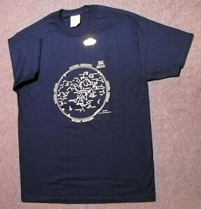 SUMMER-STAR-CHART-ASTRONOMY-T-SHIRT-YOUTH-SMALL-NEW-IN-PACKAGE