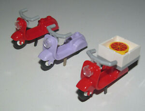 Lego-Accessoire-Minifig-Moto-Scooter-Friends-Choose-Model-ref-15396