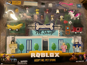 Roblox Celebrity Collection Adopt Me Pet Store Deluxe Playset 40 Pcs In Hand Ebay