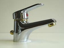 """Waschtischarmatur Chrom/Gold L150, Einhebelmischer, Wasserhahn, """"Tessa"""""""