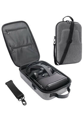 Skywin Portable Travel Hard Case for Oculus Quest VR Headset and Quest Controllers Compatible with Oculus Quest