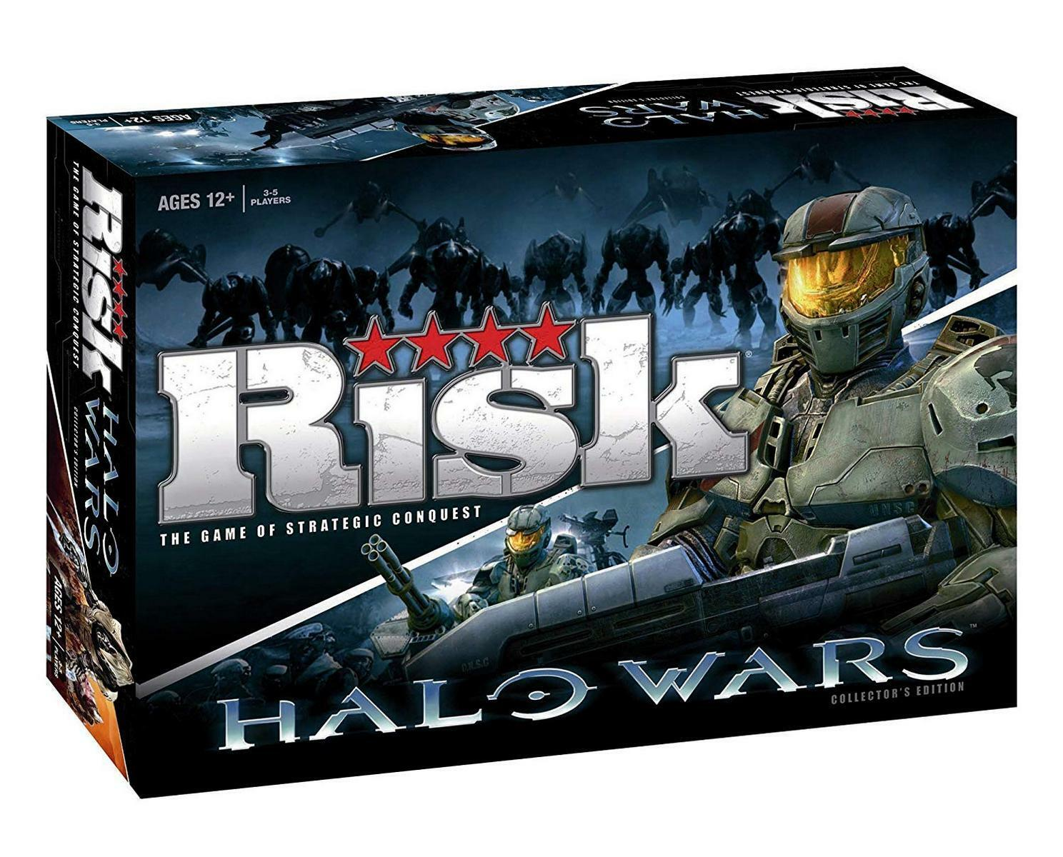 Risk Halo Wars Board Game Collectors Edition New Sealed 2009 USAopoly