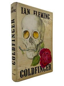 Goldfinger – FIRST EDITION – 1st Printing – ORIGINAL DJ $3.00 Ian FLEMING 1959