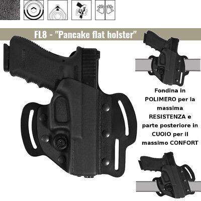 Fondina Vega Holster FL800 in bi-materiale per Beretta 92 98 serie FL8 CONFORT