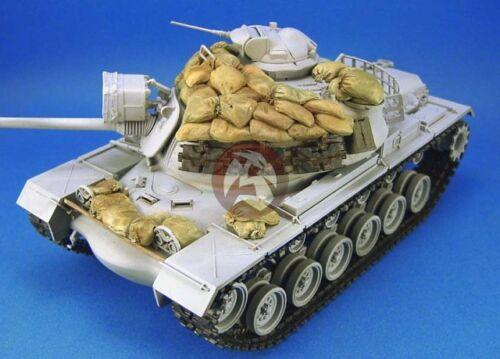 Legend 1//35 M48A3 Patton Medium Tank Sandbag Armor Set in Vietnam War LF1073
