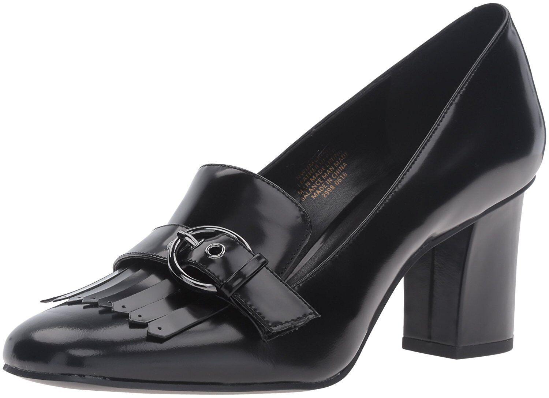 prima qualità ai consumatori Nine West West West Donna  Umbriah Leather nero Dress Pump Dimensione 6.5 M  presa di marca