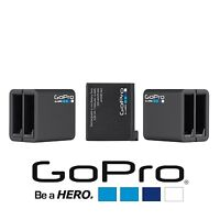 Gopro-hero4-dual - Rechargeable + 1 Battery Pack For Hero4 Black & Silver (bulk)