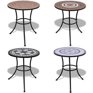Mosaik Gartentisch Beistelltisch O 60 Cm Mosaiktisch Gartenmobel