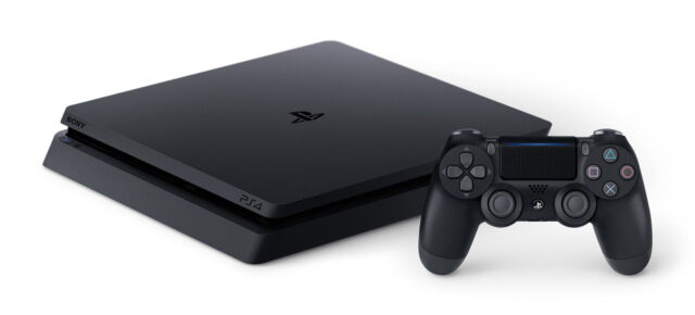 Sony PlayStation 4 Slim Black PS4 500GB Console - **BRAND NEW - FREE SHIPPING**