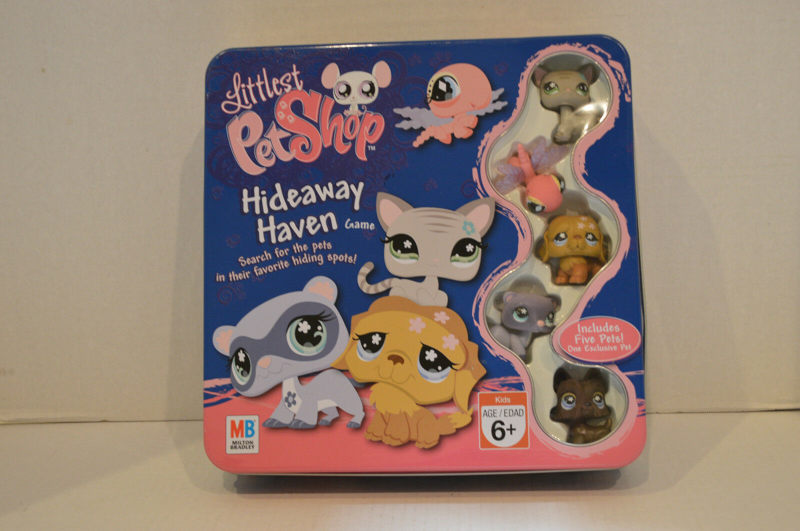 Littlest Pet ShopEx. 2008Tin Hideaway Haven Game