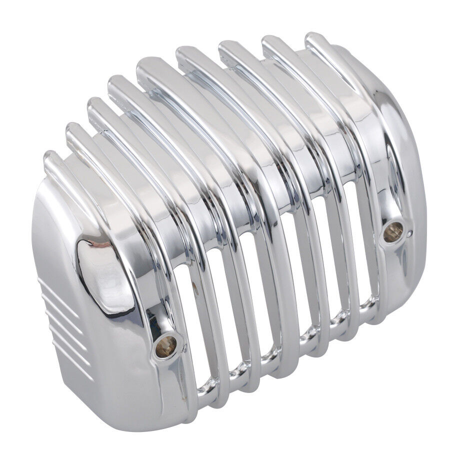 Chrome Voltage Regulator Cover for Harley Sportster 85-2003 CLEARENCE was$45+S//H