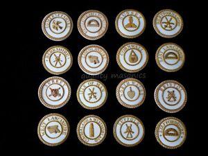 Details about masonic regalia-CRAFT PROVINCIAL DRESS & UNDRESS BADGES (ALL  PROVINCES/RANKS)