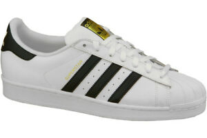 save off a7c2a d8d2e adidas Superstar J C77154 White Black Trainers UK 4 for sale online ...