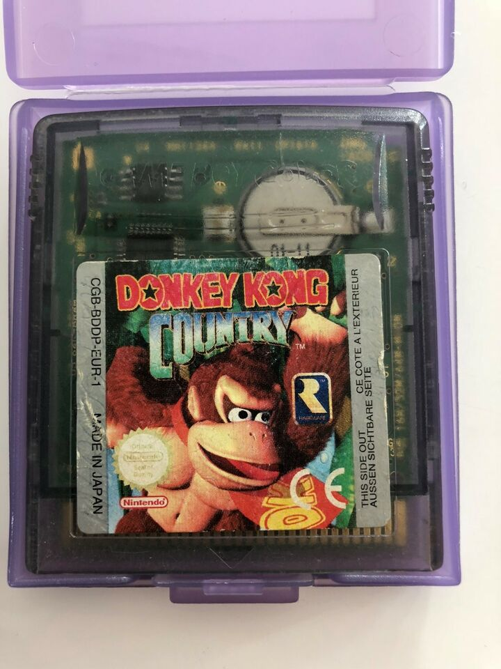 Donkey Kong Country, Gameboy Color, adventure