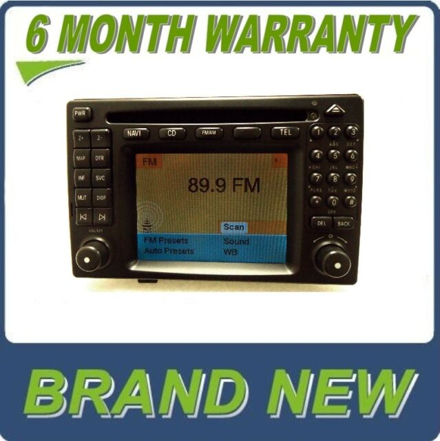 NEW MERCEDES-BENZ Comand Navigation GPS System Radio CD Player LCD Screen OEM