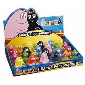 Famiglia Completa Barbapapa 9 Personaggi Cm 8 Nuovi Giochi