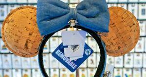 2020-Disney-Parks-Mickey-Minnie-Mouse-Ears-Pin-Trading-Cork-Headband-Bow-New