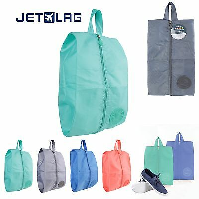 Pochette Sac chaussures matière imperméable pour sac de voyage transport JETLAG