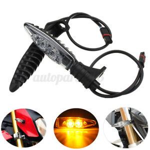 2-PZ-Anteriore-LED-Indicatori-Di-Direzione-Frecce-Moto-Per-BMW-R1200GS-ADV