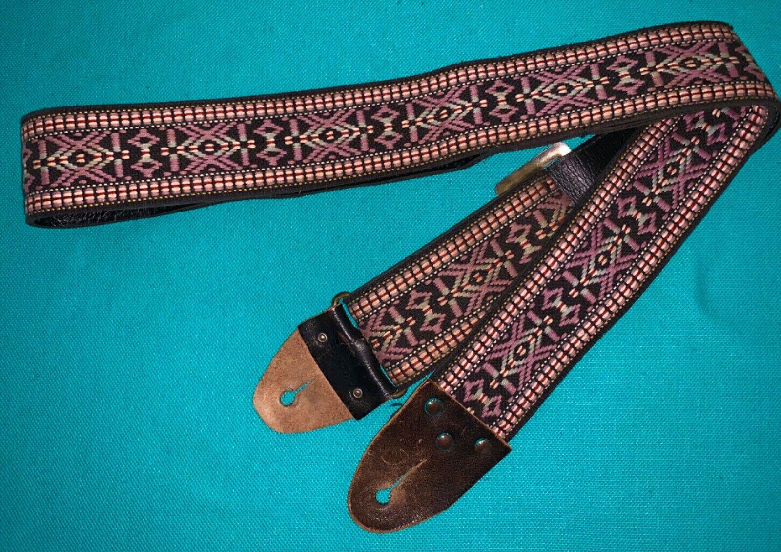Vtg Matador Old Arizona ACE Style Woven Guitar Strap