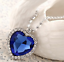 Collana-Ciondolo-Donna-Cuore-Dell-039-Oceano-Titanic-Cristallo-Love-Coppia-Regalo miniatura 7