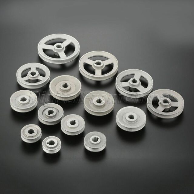 Various Size 45mmm-120mm Industrial Sewing Machine Pulley Motor Speed Reducing