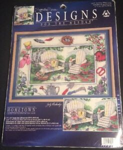 Designs-for-the-Needle-Sunday-Afternoon-5371-Hometown-Counted-Cross-Stitch-Kit